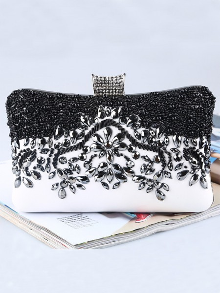 Pretty PU Beading Evening/Party Handbags