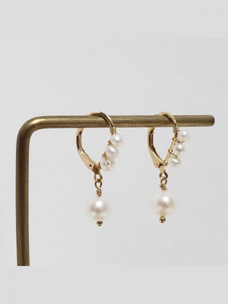 Graceful Pearl Hot Sale Ladies Earrings
