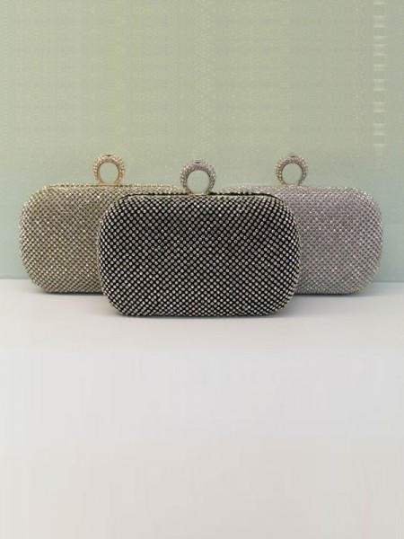 Rhinestones Evening Handbags BB202203NA7