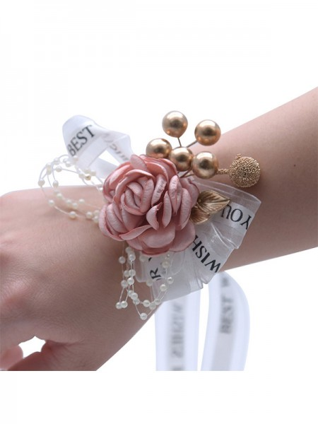 Wedding Supplies Elegant Cloth Wrist Corsage