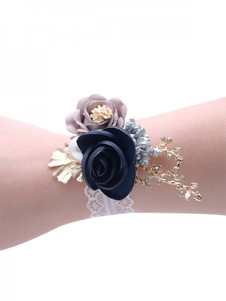 Blooming Cloth Bridal Wrist Corsage