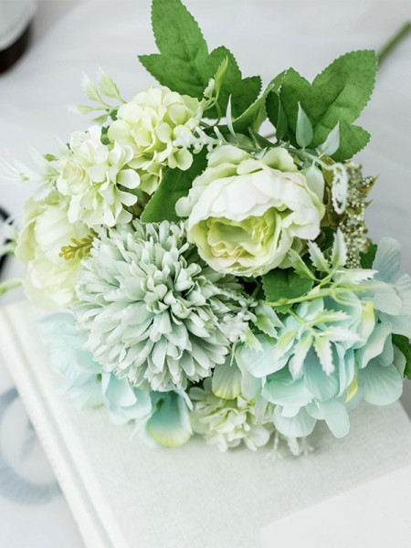 Beautiful Bridal Bouquets Free-Form Silk Flower