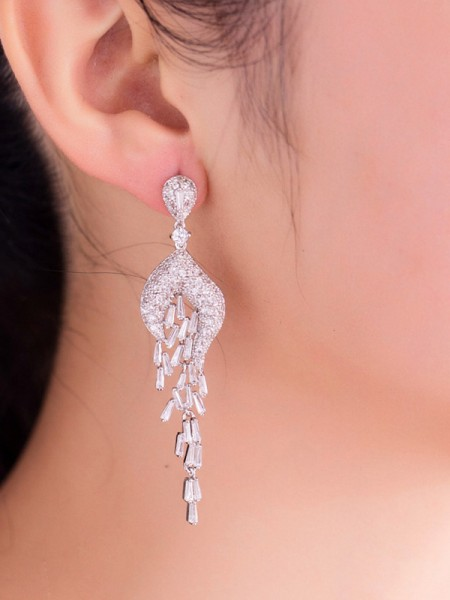 Charming Copper Hot Sale Drop Earrings For Womens