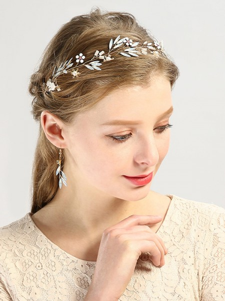 Very Amazing Glass Wedding Headpieces