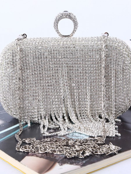 Luxurious Rhinestone Wedding/Party Crystal Handbags