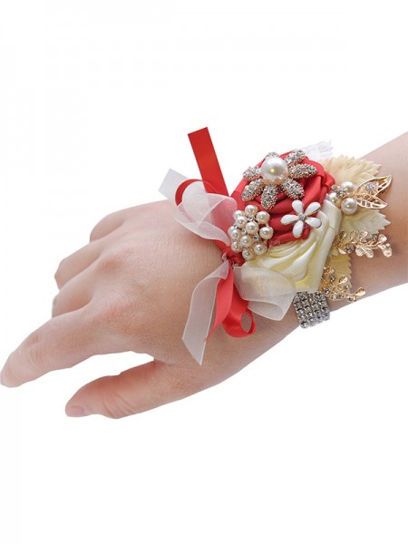 Fashion Satin Bridal Wrist Corsage
