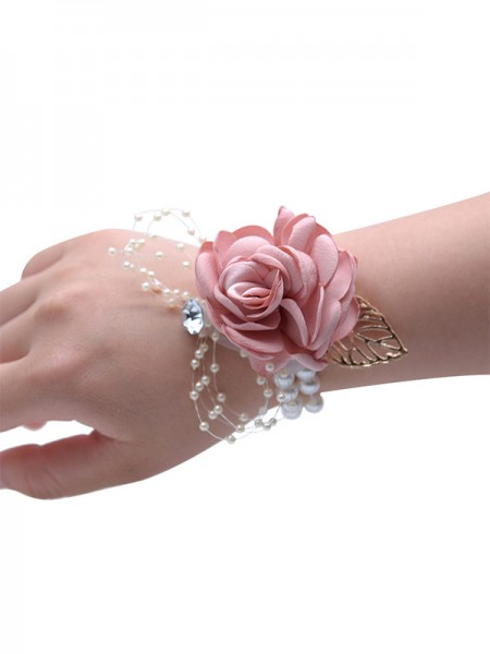 Elegant Cloth Wrist Corsage Wedding Supplies