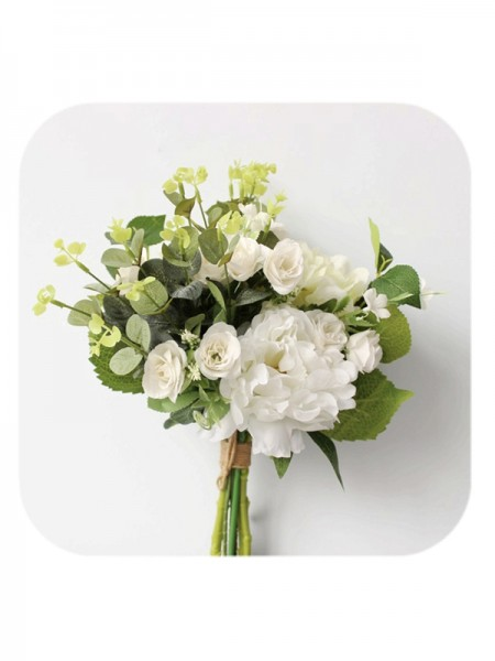 Beautiful Bridal Bouquets Free-Form Silk Flowers
